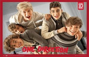 POSTER 3D ONE DIRECTION - BAND