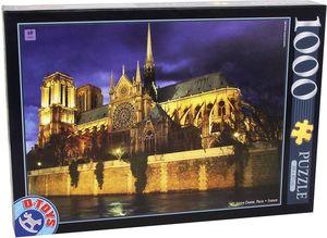 Rompecabezas Notre Dame de noche (1000 pzas.)