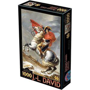 Rompecabezas Jacques-Louis David. Napoleón (1000 pzas.)