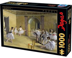 Rompecabezas Degas. Clase de Danza en la Opera (1000 pzas.)