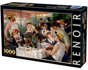 Rompecabezas Renoir. Almuerzo de Remeros (1000 pzas.)