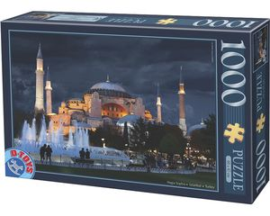 Rompecabezas Hagia Sophia, Turquía (1000 pzas.)
