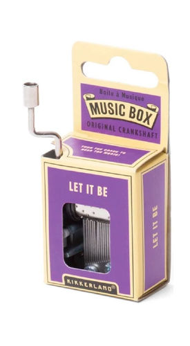 CAJA MUSICAL LET IT BE MELODY