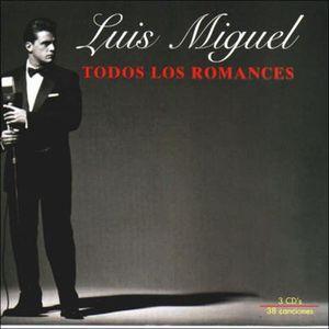 TODOS LOS ROMANCES / 3 CD