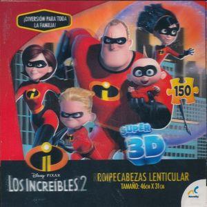 R.C. 3D LOS INCREIBLES 150 PZAS.
