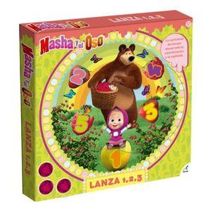 LANZA 1-2-3 MASHA Y EL OSO