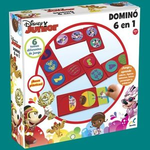 DOMINO 6 EN 1 DISNEY JR