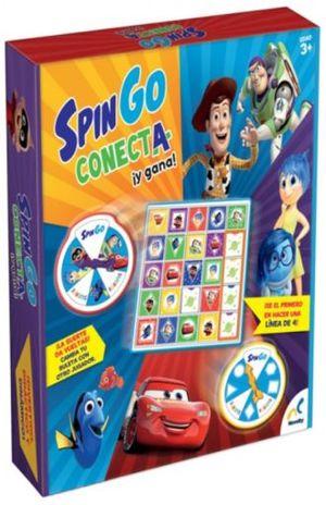 SPIN GO CONECTA Y GANA DISNEY PIXAR