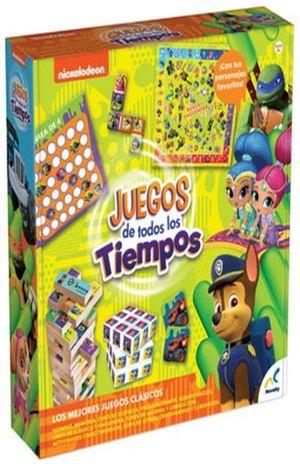 SET DE JUEGOS DE TODOS LOS TIEMPOS NICKEOLODEON