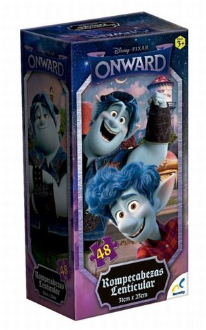 Rompecabezas lenticular Onward torre Pixar (100 pzas.)