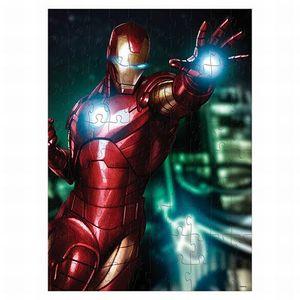 Rompecabezas Coleccionable Avengers Iron Man / Caja Metálica / 100 pzs.
