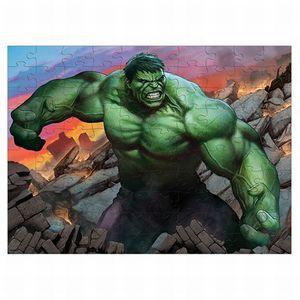 Rompecabezas Coleccionable Avengers Hulk / Caja Metálica / 100 pzs.