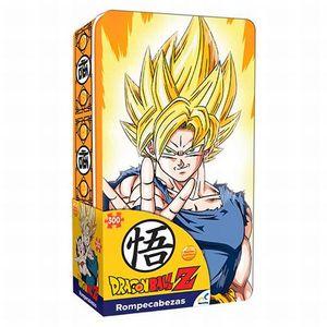 Rompecabezas Coleccionable Dragon Ball Z / Caja metálica / 300 pzs.