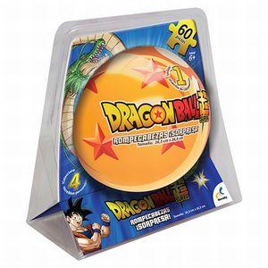 Rompecabezas Dragon Ball Super / Esfera Metálica / 60 pzs.
