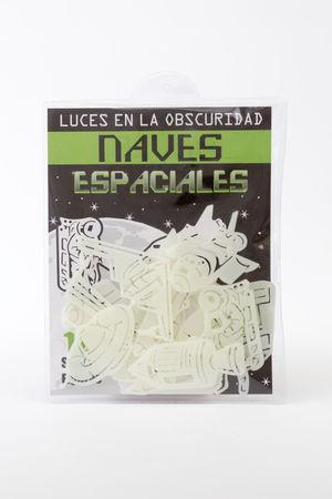 NAVES ESPACIALES LUCES EN LA OSCURIDAD