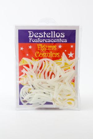 FIGURAS COSMICAS DESTELLOS FOSFORESCENTES