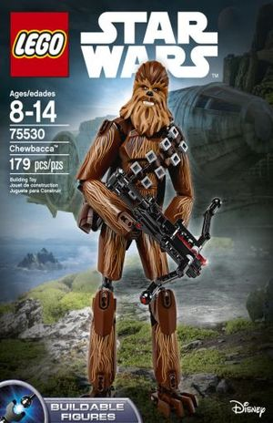 LEGO STAR WARS CONSTRACTION. CHEWBACCA