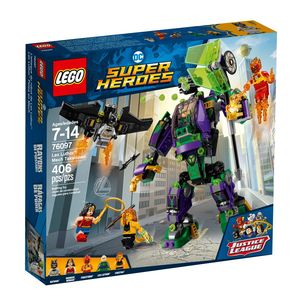 LEGO SUPER HEROES. LEX LUTHOR MECH TAKEDOWN