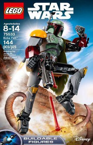 LEGO STAR WARS CONSTRACTION. BOBA FETT