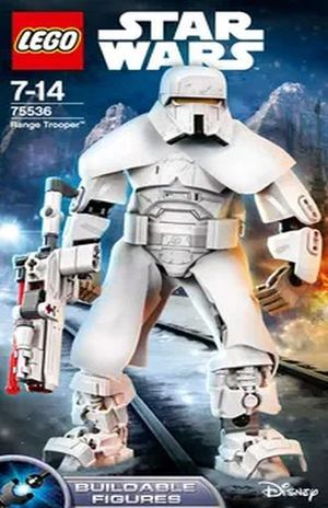 LEGO STAR WARS CONSTRACTION. TROOPER DE LARGO ALCANCE