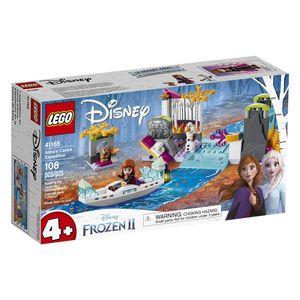 LEGO DISNEY PRINCESS. CANOA DE HIELO ANNA Y OLAF