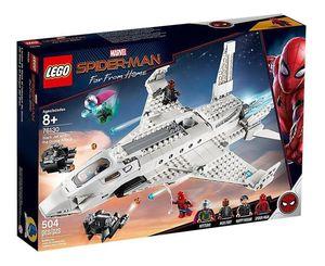 LEGO SUPER HEROES. SPIDER MAN JET STARK Y EL ATAQUE DEL DRON