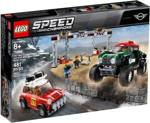 LEGO SPEED CHAMPIONS. MINI COOPER S RALLY DE 1967 Y MINI JOHN COOPER WORKS BUGGY