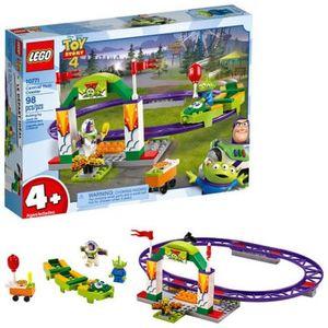 LEGO JUNIORS. TOY STORY 4 ALEGRE TREN DE LA FERIA
