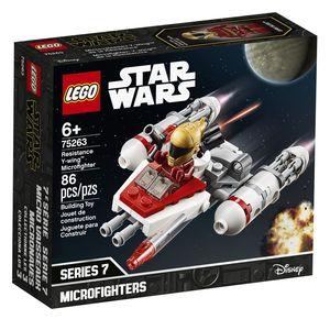 Lego Star Wars. Microfighter y Wing de la resistencia