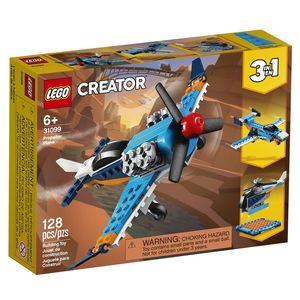 Lego Creator. Avión de hélice