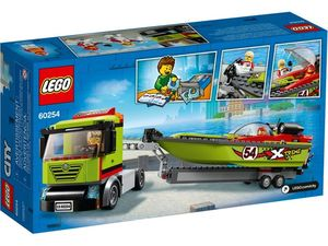 Lego City Great Vehicles. Transporte del barco de carreras