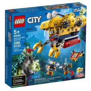 Lego City Oceans. Océano submarino de exploración