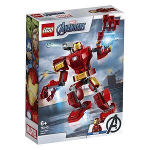 Lego Marvel Avengers. Armadura robótica de Iron Man