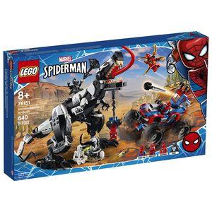Lego Marvel Spiderman. Venomsaurus