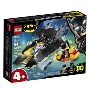 Lego DC Batman. Batboat persecución del pingüino