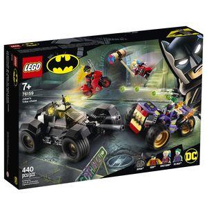 Lego Super Héroes. Joker's trike chase