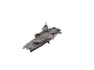 R.C. 3D USS ENTERPRISE / SUPER MILITARY 121 PZAS.