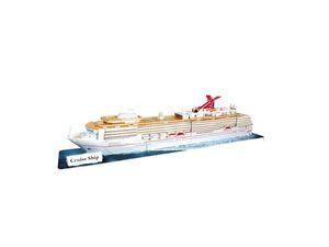 R.C. 3D CRUISE SHIP 86 PZAS.