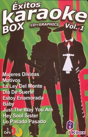 EXITOS KARAOKE BOX / VOL. 1 / CD + GRAPHICS