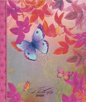 AGENDA CUADERNO BUTTERFLY 2020 / PD.