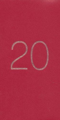 AGENDA CHEQUERA 2020 (ESPIRAL / PASTA SUAVE / 4 COLORES)