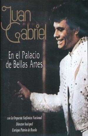 JUAN GABRIEL EN EL PALACIO DE BELLAS ARTES / DVD