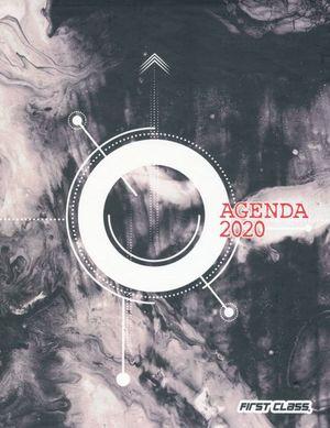 AGENDA ENGARGOLADA SEMANAL 2020 FRANCES ABSTRACTO / PD.