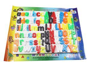 PIZARRA MAGNETICA ABC MAY/ MIN NUM / 76 PZS