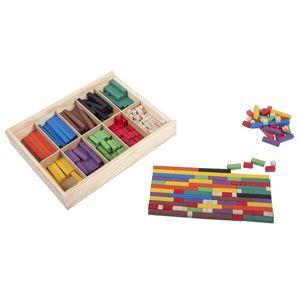 Regletas Ranuradas (con caja madera)