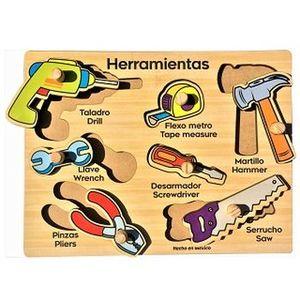 R.C. HERRAMIENTAS / MADERA 7 PZS.
