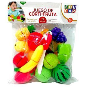 Juego de corti-fruta (15 pzas.)