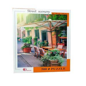 Rompecabezas Restaurante al aire libre (500 pzas.)