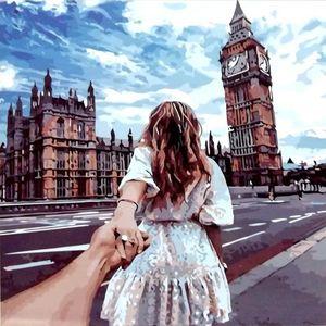Viajando contigo. Arte por número