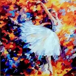 Bailarina. Arte por número
